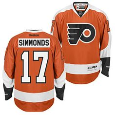 e006bf1ae Get this Philadelphia Flyers Wayne Simmonds Home Premier Jersey w   Authentic Lettering at PhillyTeamStore.