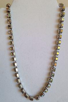 DKNY Borealis choker necklace by juliesringsandthings on Etsy