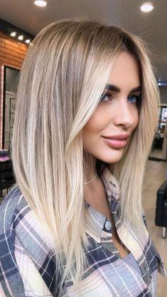 Blonde Hair Looks, Brown Blonde Hair, White Blonde, Blonde Hair With Brown Highlights, Summer Blonde Hair, Short Blonde, Blonde Hair For Green Eyes, Blonde Ombre Hair Medium, Highlighted Blonde Hair