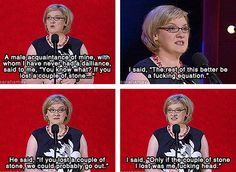 I love Sarah Millican going to see this lady in 12 days - so excited!