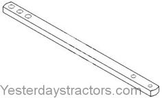 Massey Ferguson 202 Drawbar, Swinging for sale..... Massey Ferguson 202 Drawbar, Swinging  [Show Categories]  [Show all Massey Ferguson 202 Parts] Description: Swinging Drawbar is 35.75 inches in length, 2 inches wide, 1.125 inches thick. Also replaces 184611M1. Three 1.032 inch diameter holes at 1.25, 3.25, and 3.25 inches from front. For model s:130, 135, 150, 165, 202, 205, 20C, 235, 245, 255, 265, 275, 30B, 35, 40B, 50, 65, TO35. Drawbar, Swinging Part Number 531468M1  $102.86