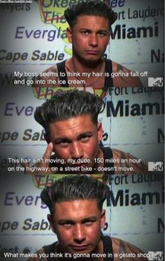 funny, jersey shore, pauly d, quote, show