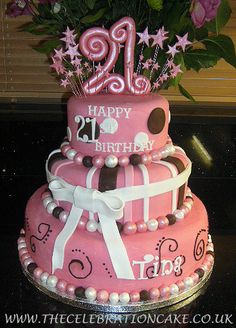 Superb 103 Best 21St Birthday Cakes Images 21St Birthday Cakes 21St Funny Birthday Cards Online Barepcheapnameinfo