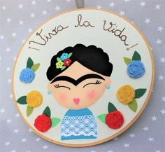 Frida Kahlo feminist gift frida mexican girl power home Gifts For Art Lovers, Lovers Art, Frida Kahlo Feminist, Wood Wall Art, Canvas Wall Art, Kahlo Paintings, Frida And Diego, Painted Picture Frames, Fiesta Theme Party