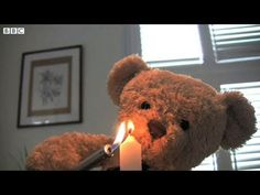 Misery Bear - Preparing For a Date. So cute and so sad at the same time.