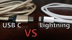 The Battle of Smartphone Cables: USB Type C vs. Apple Lightning