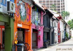Haji Lane, Kampong Glam, Singapore  Nearest MRT: Bugis station  10 minute walk from Raffles Hospital exit