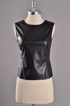 Leather Top $44