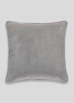 Large Velour Cushion (58cm x 58cm) – Matalan