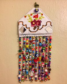Nazarılık, nazar, keçe, kanaviçe, nazar boncuğu, felt, feltro, amulet, design, hand made, turkish eye, cross stitch