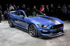 2015 Detroit Auto Show: Motor Trend Editor Favorites. Ford Shelby 450RGT Mustang. A hot car that deserves that second look! Kind of got lost in the show after Ford unveiled the Ford GT. But this Mustang truly is hot!