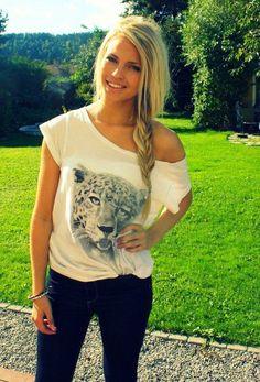 animal graphic tshirt & fish tail ; lovee