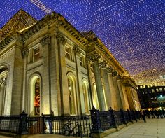 Merchant City's Royal Exchange Square, Glasgow for Christmas