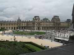 The Louvre. #1 reason for visiting Paris. (Macarons #2.)