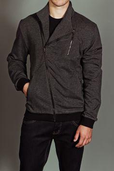 MG Black Label Michi Zip Jacket Heather Charcoal