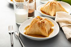These Old-Fashioned Apple Dumplings will bring back memories of Grandma's house! Whole apples are wrapped in pastry and baked with plenty of spices and a delicious syrup for a recipe full of nostalgia. Fall Recipes, Snack Recipes, Dessert Recipes, Cooking Recipes, Snacks, Dessert Drinks, Fruit Dessert, Caramel Apple Pie Cookies, Sour Cream Biscuits