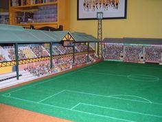 Graham Warner uploaded this image to 'Sixties Subbuteo Stadium New Build'. See the album on Photobucket.