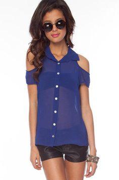 That's So Sweet Button Down Shirt on http://lolobu.com/o/1526
