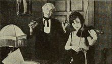 Forget Me Not (1922) - Film still with Bessie Love and Otto Lederer