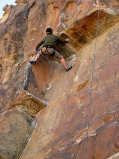 Thin Wall, Joshua Tree, Michael Moore, 5.11a