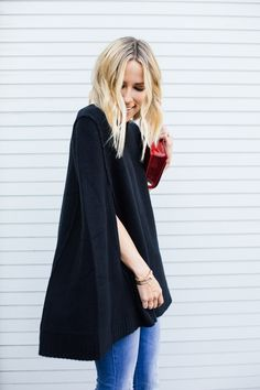 Black Cape - not a link to pattern, but I'd like to make one.