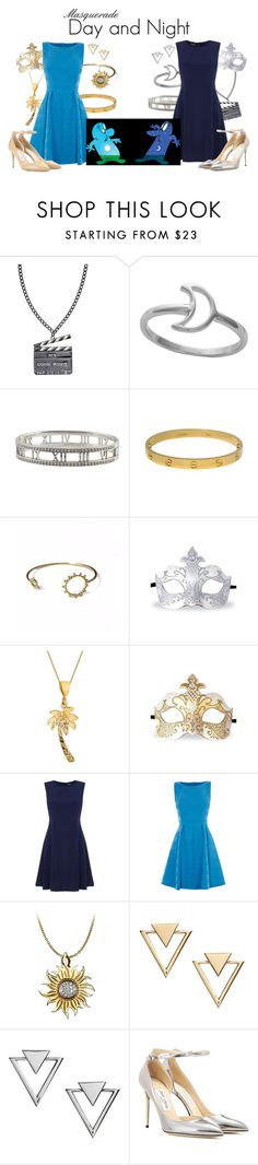 """Masquerade: Day and Night"" by jivy44 ❤ liked on Polyvore featuring Chanel, Midsummer Star, Tiffany & Co., Cartier, Agnes de Verneuil, BillyTheTree, Tommy Hilfiger, Karen Millen, Carrera y Carrera and Nadri"