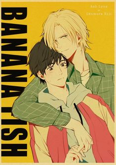 Back to College Japanese Anime Banana fish Retro Posters Art Movie Painting Kraft Paper Prints Home Room Decor Wall Stickers - 42X30cm / Q029 / China