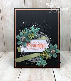 Stampin' Up! Share What You Love Graceful Glass Sneak Peek   Stamps – n - Lingers