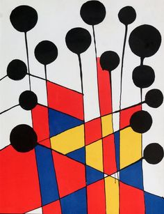 Composition, by Alexander Calder, 1971