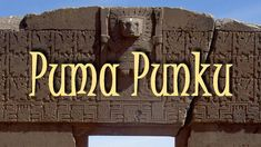 Puma Punku, SOLID EVIDENCE OF ANCIENT ALIENS - Wonders of the world - Co..Uploaded on Dec 14, 2009 Pumu Punku one of the most incredible unexplaind ancient ruins in the world Supposedly the wheel hadnt even been invented at the point Puma Punku was built So what they want us to believe is stone age people that that Supposedly didnt even have the knowledge to invent a wheel managed to create this amazing structure .