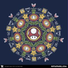 ''One Up Mandala'' by paulagarcia available today only, 2/06/17, at RIPT Apparel