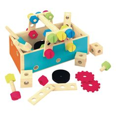 Première caisse à outils (+3 ans) Purple Haze, Tool Box Kit, Wooden Tool Boxes, Problem Solving Skills, Educational Toys, Games For Kids, Are You The One, Toy Chest, Storage Chest