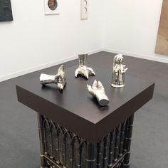 Steven Claydon — at Frieze London London Art Fair, Frieze London, Art Object, Visual Arts, Contemporary Art, Objects, Glass, Drinkware, Corning Glass