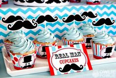 Little Man + Mustache Themed Birthday Party {Planning, Ideas, Decor}