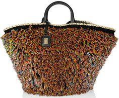 Dolce & Gabbana Miss Kendra raffia Straw Shopper hand bag