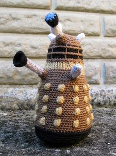 Bronze Dalek by Lucyravenscar (Angry Angel), via Flickr