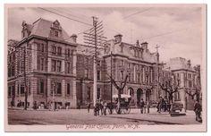 General Post Office Perth, Western Australia-c.1902
