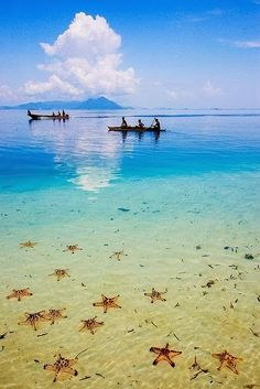Beach life Semporna, Sabah in Borneo, Indonesia Ocean Blue Semporna, Dream Vacations, Vacation Spots, Vacation Travel, Travel List, Travel Europe, Travel Tourism, Vacation Packages, Places To Travel