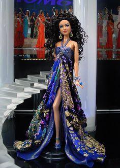Ninimomo Miss Tonga 2013 - Barbie Doll Barbie Miss, Play Barbie, Barbie And Ken, Beautiful Barbie Dolls, Vintage Barbie Dolls, Barbie Gowns, Barbie Clothes, Doll Dresses, Manequin