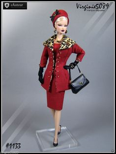 Tenue Outfit Accessoires Pour Barbie Silkstone Vintage Fashion Royalty 1133 | eBay