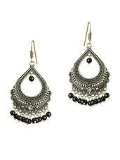 black brass chandellier earring - Online Shopping for Earrings