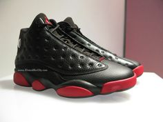 """The """"Black/Gym Red"""" Air Jordan 13 Release Date is Official: http://www.kixandthecity.com/0gl6I"""