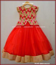 Best 12 Kids designer frocks by Angalakruthi boutique Bangalore Kids Gown Design, Kids Frocks Design, Baby Frocks Designs, Baby Dress Design, Frock Design, Frocks For Girls, Dresses Kids Girl, Kids Party Frocks, Kids Party Wear