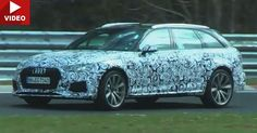 This Is What Audi's New RS4 Avant Turbo V6 Sounds Like On The 'Ring #Audi #Audi_RS4