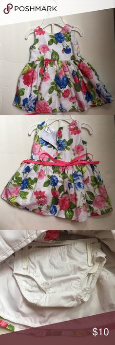 CARTER'S baby girl dress Beautiful baby floral dress for 3 month . Very good condition , used just once Carter's Dresses