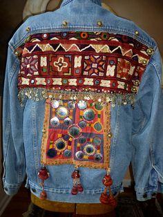 Ethnographic Embellished Jacket by MorningDove on Etsy
