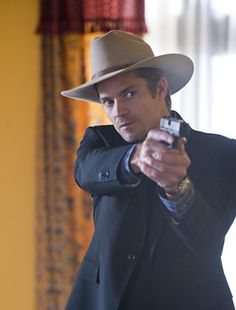 """Mmmmm Timothy Olyphant (as Raylan Givens in the tv show """"Justified"""")."""