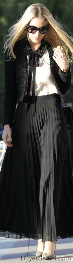 Prada pleated skirt in Green wishing now that I have black :D