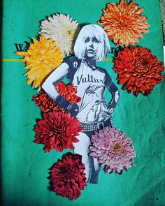 I've adored Deborah Harry since I was 8 or So, here's a work in progress with her from the Collage Artwork, Loveless, 1970s, Aesthetics, Couture, Painting, Fictional Characters, Instagram, Painting Art