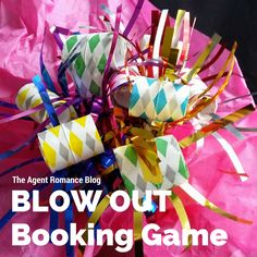 "Here's the booking game I've been using this month. Totally fun ""New Year's"" spin on the tried and true ""Pass or Play"".   Blow Out Booking Game Supplies: Party Blowers, Avery self-adhesive address labels Print your game pieces (gifts that the guest will receive at their party if they book one that night) on return... [Read More]"